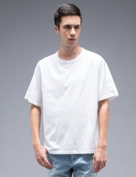 Marni Classic S S T Shirt With Woven Back Panel