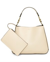 Calvin Klein Fara Hobo With Pouch Wheat Black