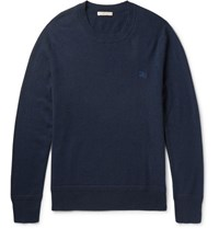 Burberry Cashmere Sweater Navy