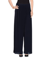 Peacock Blue Trousers Casual Trousers Women Dark Blue