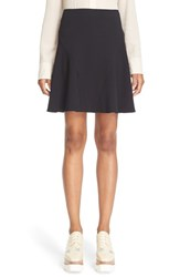 Stella Mccartney Women's Stretch Cady Skater Skirt Black