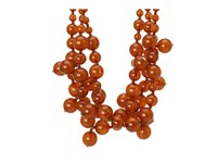 Kenneth Jay Lane Multi Bead Necklace Tortoise Necklace Brown