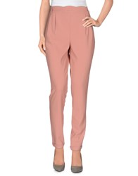 Darling Trousers Casual Trousers Women Salmon Pink