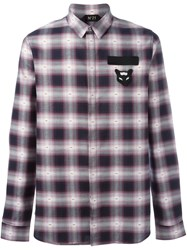 N 21 No21 Checked Shirt Red