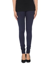 Amen. Trousers Leggings Women Dark Blue