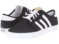 Adidas Skateboarding Seeley Core Black White Charcoal Solid Grey Men's Skate Shoes