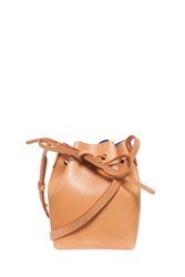 Mansur Gavriel Mini Bucket Bag Beige