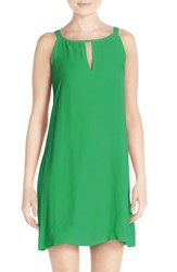 Women's Bb Dakota 'Rachel' Crepe Shift Dress Jade
