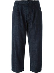 Studio Nicholson 'Alfini' Trousers Blue