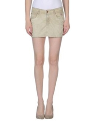 Roy Rogers Roy Roger's Mini Skirts Beige