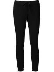 Pam And Gela 'Betsee' Skinny Sweat Trousers Black