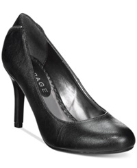 Rampage Omare Zip Back Pumps Women's Shoes Black