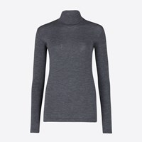 Libertine Libertine Grey Melange Roll Neck