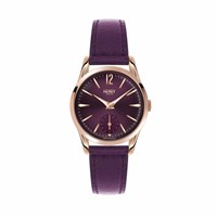 Henry London Ladies' Hampstead Watch With Sub Second Dial Rose Gold Pink Purple