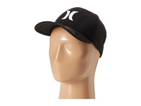 Hurley One Only Flexfit Hat Black White Caps