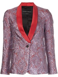 Christian Pellizzari Metallic Grey Smoking Jacket
