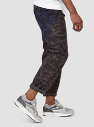 Garbstore National Troop Pant Grey And Navy
