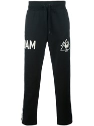 Le Coq Sportif 'Dam' Trackpants Black