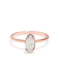 Bing Bang Swarovski Marquis Ring Rose Gold