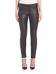 Yigal Azrouel Skinny Leather Pants Black