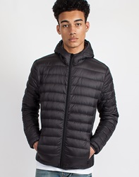 Schott Nyc Silverado Light Weight Hooded Down Jacket
