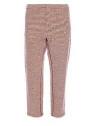 Tomorrowland Hound's Tooth Wool Blend Trousers
