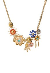 Banana Republic Blooming Buds Necklace Multi Multicoloured