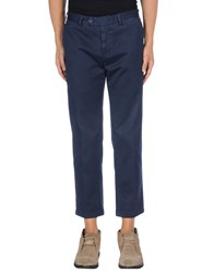 Santaniello And B. Trousers Casual Trousers Men Dark Blue