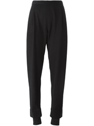 Stephan Schneider Pleated Tapered Trousers Black
