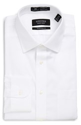 Nordstrom Men's Big And Tall Men's Shop Smartcare Tm Traditional Fit Stripe Dress Shirt White