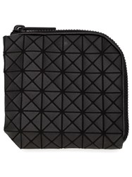 Bao Bao Issey Miyake Geometric Pattern Zip Around Wallet Black