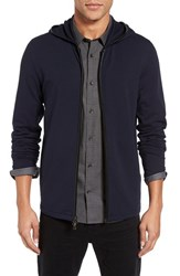 John Varvatos Men's Star Usa Zip Front Hoodie