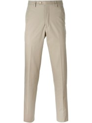 Mp Massimo Piombo Chino Trousers Nude And Neutrals