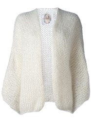 Made By Bernadette Wide Sleeve Cardigan White