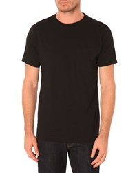 Menlook Label Allan Black T Shirt