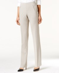 Styleandco. Style Co. Tummy Control Pull On Pants Heather Rockbird