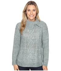Royal Robbins Ahwahnee Turtleneck Silver Pine Women's Sweater