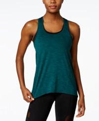 Betsey Johnson Space Dyed Tank Top Jungle Teal