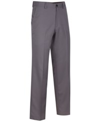 Greg Norman For Tasso Elba Men's 5 Iron Protech Slim Fit Golf Pants Grey Asphalt