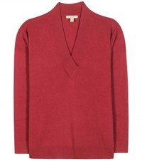 Burberry Cashmere Sweater Red