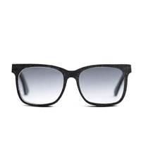 Mosevic Celsius Solid Denim Sunglasses Stone Black Blue