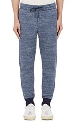 Vince. Men's Double Faced Track Pants Navy