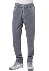 Urban Classics Burnout Tracksuit Bottoms Darkgrey Mottled Dark Grey