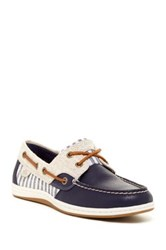 Sperry Koi Fish Navy Boat Shoe Blue