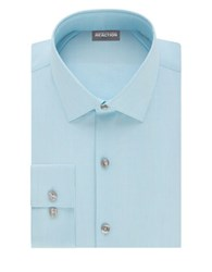Kenneth Cole Reaction Techni Performance Slim Dress Shirt Bluejay