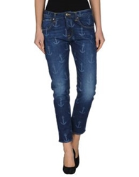 Truenyc. Denim Pants Blue