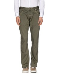 Zu Elements Zu Elements Trousers Casual Trousers Men Military Green