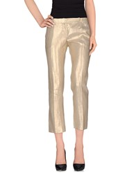 Richmond X Trousers Casual Trousers Women Gold
