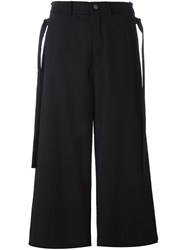 Damir Doma 'Ponte' Ankle Length Trousers Black