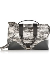 Jason Wu Hanne Printed Leather Shoulder Bag